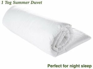 1-Tog-Summer-Cool-Duvet-Quilt-Lightweight-All-sizes-Available-Slight-second