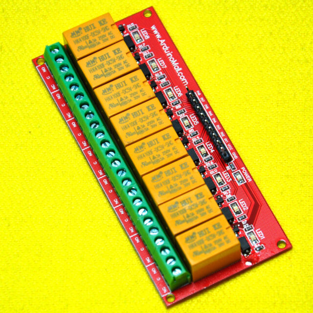 GOOD 5V Eight Channel Relay Module For PIC AVR DSP ARM Arduino 1PC