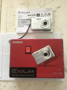 Digitalkamera Casio EX-Z75.Schwarz + Casio EX-Z60.Silber.Gebraucht.