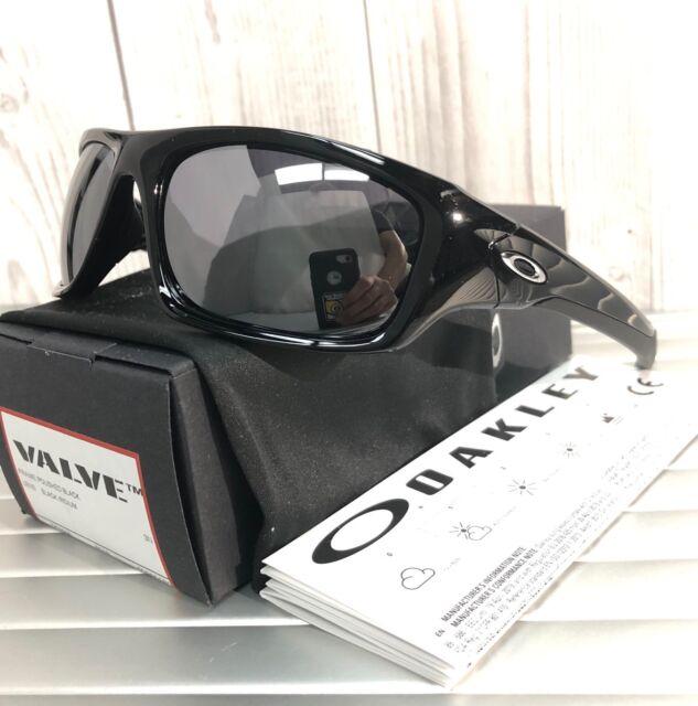 1abf22a3a New Oakley VALVE Sunglasses OO9236-01 Polished Black/ Black Iridium Retail  $150