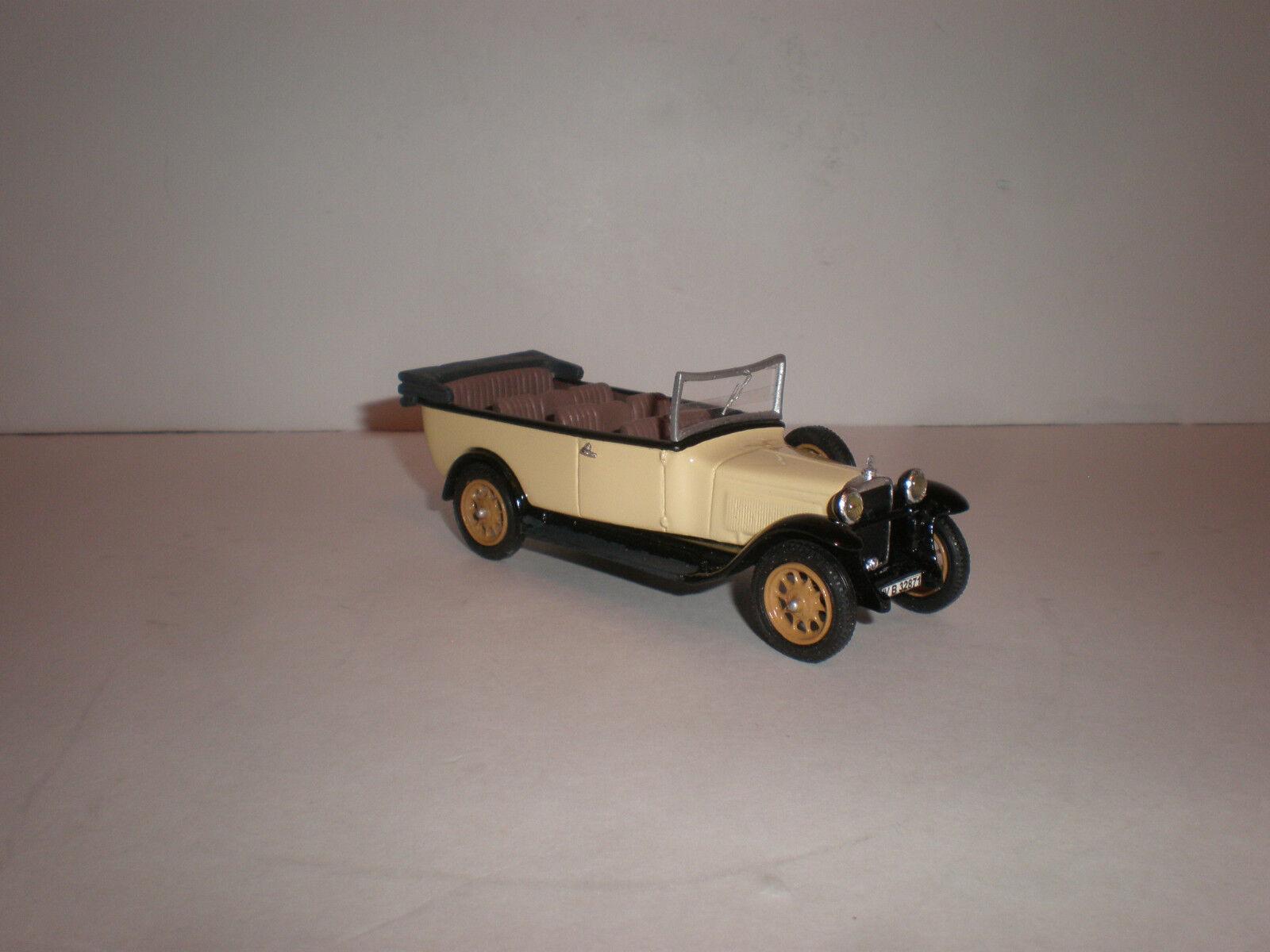 1  43 1929 MERCEDES BENZ L.1000 (W37) Torpedo turning buss öppna   elfenben