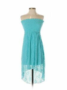 NWT-Heart-Soul-Women-Blue-Dress-S