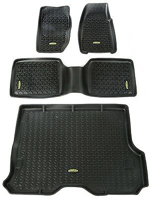 2001 2003 Dodge Durango Black Loop Driver GGBAILEY D3633A-LSC-BK-LP Custom Fit Automotive Carpet Floor Mats for 1998 1999 Passenger 2nd /& 3rd Row 2000 3 Piece 2002