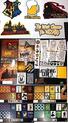 die cuts Paper Hogwarts Project Life Harry Potter Scrapbook Kit Hermione