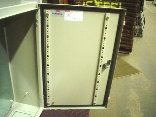 "Hoffman GSD604020GP2 wall mount electrical enclosure  24/"" x 16/"" x 8/""  nema 4"