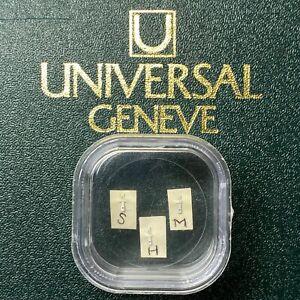 Universal-Geneve-Compax-Nina-Rindt-885103-885105-885107-Tritium-Hands-Set