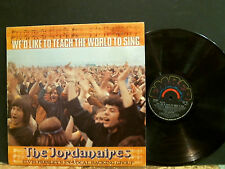 THE JORDANAIRES   We'd Like To Teach The World  . . .  LP  Elvis's backing band
