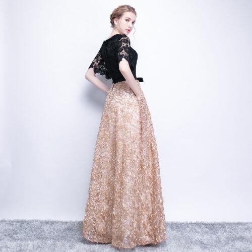 Edel Spitzen Abendkleider Cocktailkleid Ballkleider Lang Party Kleider YSGZ01
