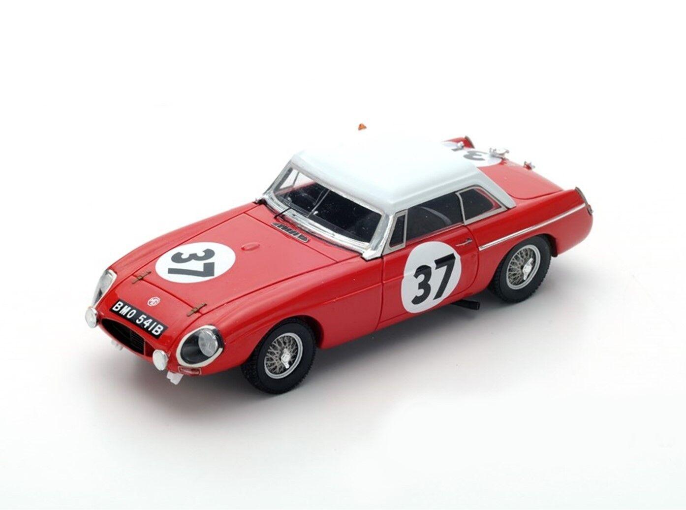 SPARK MGB Hardtop th Le Mans 1964 P. Hopkirk - A. Hedges S5078 1 43