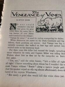 H1-1-Ephemera-1930s-Short-Story-The-Vengeance-Of-Vampa-Arthur-Groom