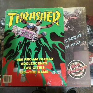 Thrasher-Skateboard-Magazine-March-1987-Jeff-Phillips-Christian-Hosoi-3-87-Mar