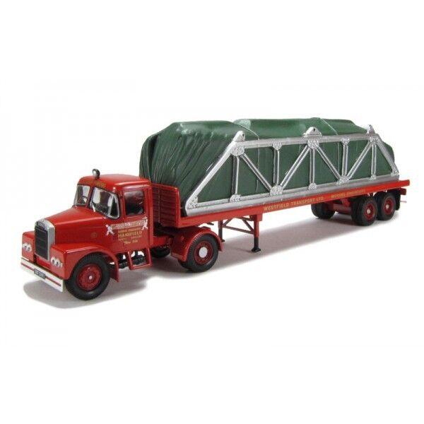 Corgi 10704 Scammell Highway man Flatbed w  Load - Westfield Transport Ltd 1  50 MB