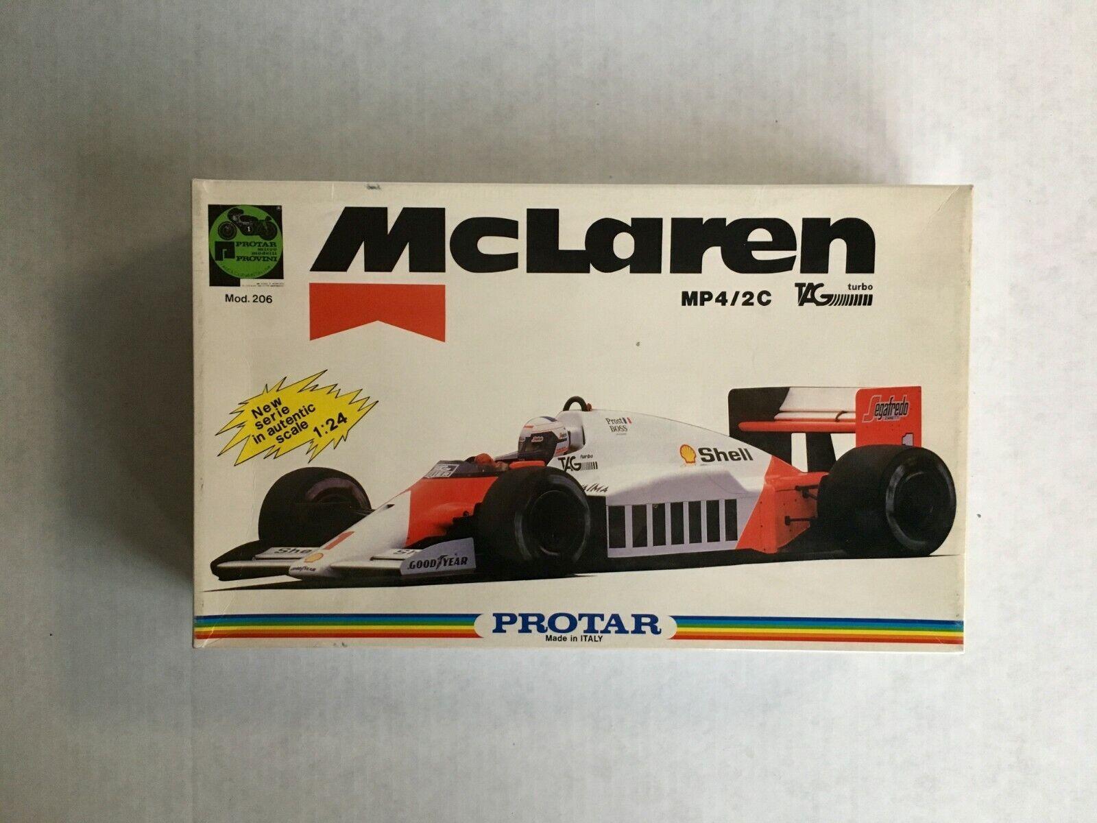 McLaren MP4 2C World Champion 1986 Alain Prost.1  24 scale Prostar Made in