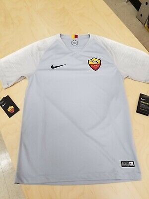 5fe50b64ffcbb6 Details about Nike 2018/19 A.S.Roma Short Sleeve Men's Away Jersey  919019-012 Sz Small NWT!!!