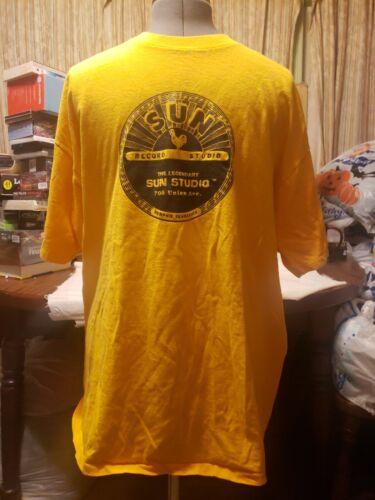 VTG SUN RECORDS 2XL SHIRT FREE SHIP  SINGLE STITCH