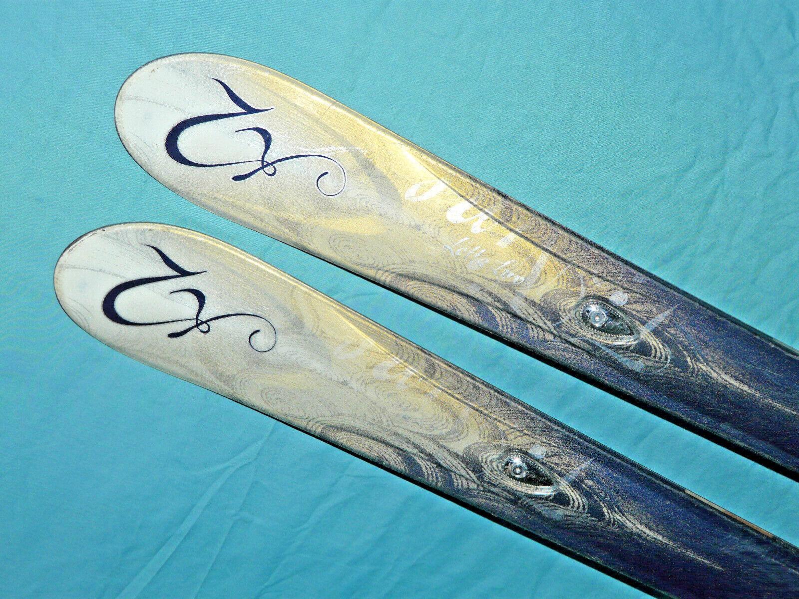 K2 Lotta LUV T Nine Women's Skis 160cm Flat with no bindings ❅❅ THINK SNOW  ❅❅