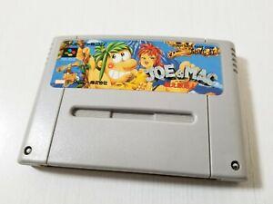 Nintendo Super Famicom Joe & Mac Caveman Ninja SHVC-JT 1991 Japan 0122A21