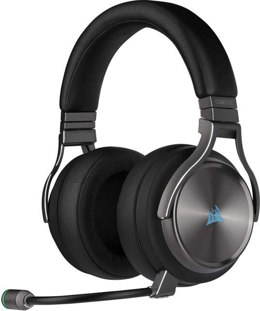 Corsair Virtuoso RGB Wireless Alta Fedeltà Cuffia Gaming, 7.1 PC e PS4