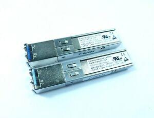 2x Extreme Networks 4050-00030-03 1000 Base-lx Minigbic 1310 Presque Comme Neuf Transceiver Module-afficher Le Titre D'origine