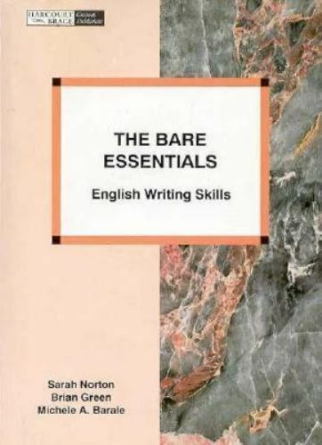 The Bare Essentials : English Writing Skills
