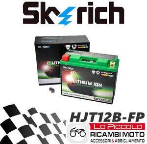 BATTERIA MOTO UNIBAT YT12B-BS DUCATI Sport Classic GT 1000 2007 2008 2009 2010