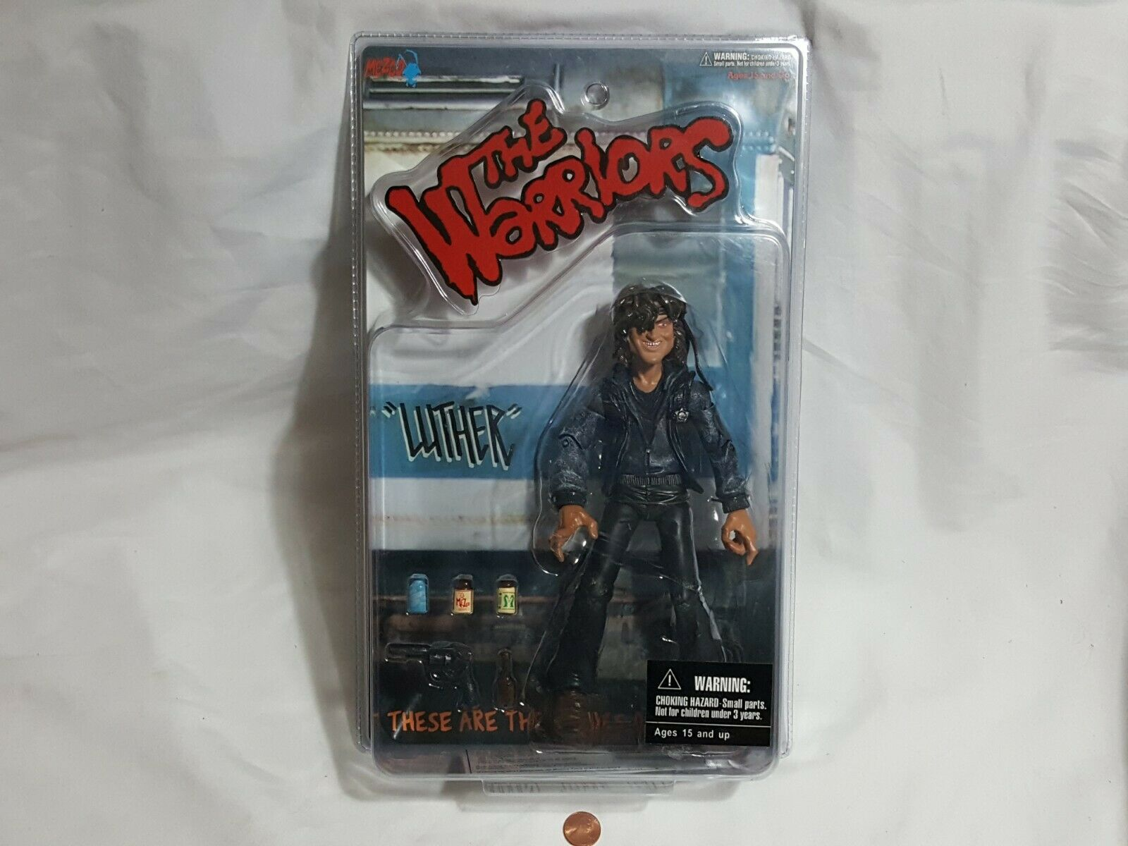NEW The Warriors Luther Mezco Action Figure SEALED toy warrior luthor 2005