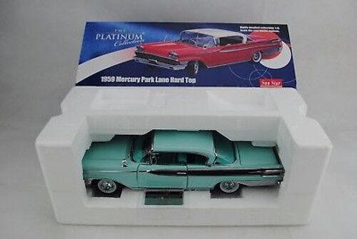 1 18 Sun Star Platinum MERCURY PARK LANE HARD TOP TOP TOP 1959 - RAR - neu  OVP   0c7c2d
