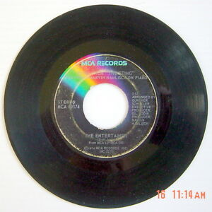 1974-039-S-45-R-P-M-RECORD-MUSIC-FROM-034-THE-STING-034-FEATURING-MARVIN-HAMLISCH-ON-PIANO