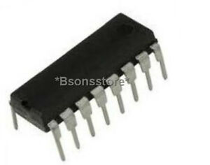 10PCS Cd4511 Controlador de decodificador de pestillo Individual 4 a 7 16 pines Pdip Ic Cd4511be
