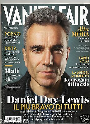 vanity fair n. 5 daniel day lewis quentin tarantino ruzzle alessandra martines