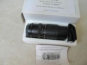 Details about Arsat Granit 11 M 4 5/80-200mm ZOOM lens for NIKON or CANON  FULL FRAME BOKEH