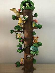 8PCS-Set-Animation-Pokemon-Miniature-Forest-Tree-Collection-Figures-Toy-No-Box