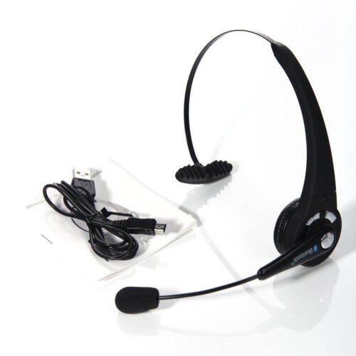 Wireless-Bluetooth-Noise-Cancelling-Mic-Headset-For-Trucker-Driver-Cellphone-PS3