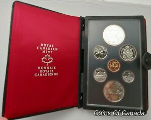 1978-Canada-7-Coin-Prestige-Silver-Dollar-Specimen-Set-ORIGINAL-coinsofcanada