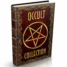 Occult Books 454 on DVD Spells Wicca Witchcraft Paganism Astrology Alchemy