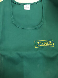 Adults Printed Pocket Tabard Personalised With Company Name//Logo 5 sizes 12 cols