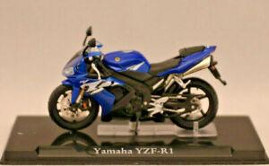 ** Yamaha Yzf-r 1 ** Atlas Collection * Nouveau * échelle: 1:24 * état Modèle **-*maßstab: 1:24*standmodell** Fr-fr Afficher Le Titre D'origine
