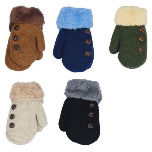 0-12 Months Baby Gloves Knitted Gloves Children/'s Mittens Warm Rope Mittens