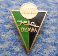 MOTO JELCZ OLAWA POLAND FOOTBALL BOXING CYCLING WEIGHTLIFTING 1980' BIG GOLD PIN