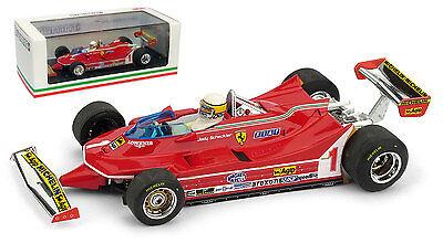 Pil Ferrari 312 T5 GP Argentina 1980 Jody Scheckter #1 Brumm 1:43 R574-CH