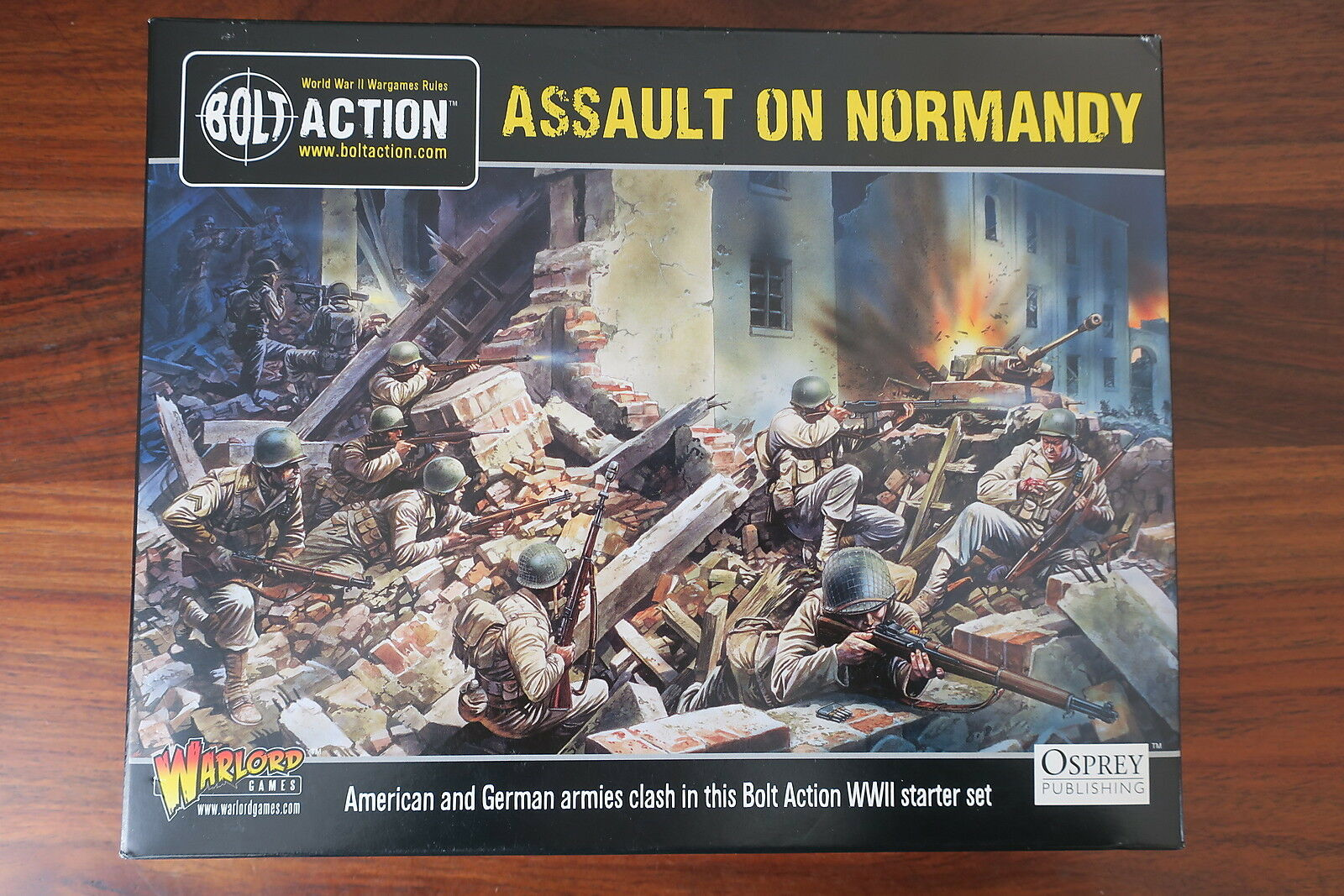 BOLT Acción - ASSAULT ON NORMANDY   -- AVEC LIVRE     WITH BOOK --   NEUF   NEW