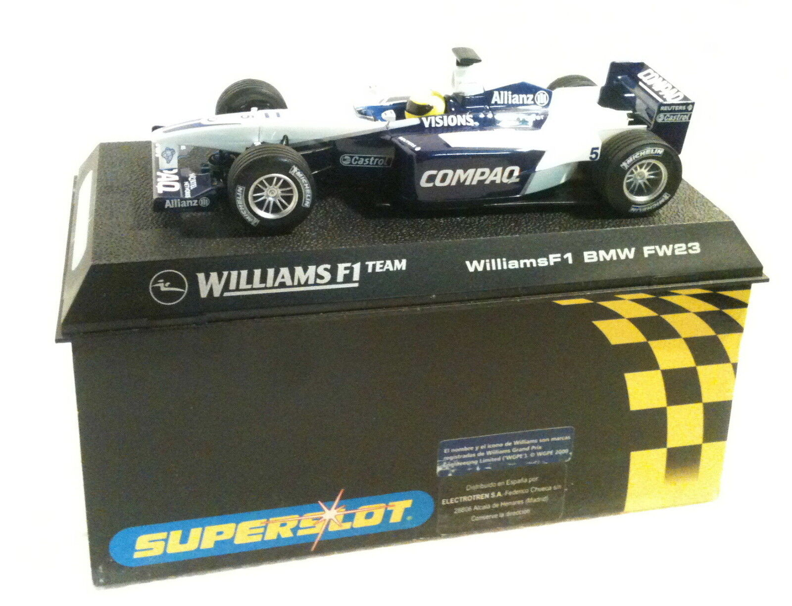 Qq H 2334 SUPERSLOT BMW WILLIAMS F1 FW23 R SCHUMACHER - Scalextric UK