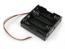 4 x AA Battery Holder Case (1 PC) With Lead Wires High Quality. USA SELLER!!!
