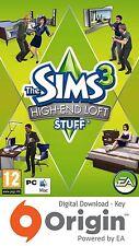 Los Sims 3 paquete de cosas de High-End Loft PC y Mac Origin Clave