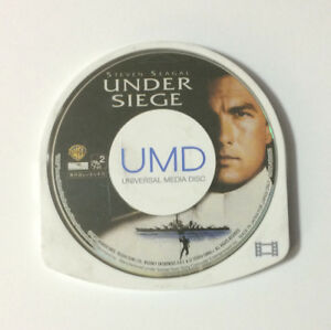 USED PSP Disc Only UMD Video UNDER SIEGE JAPAN Sony PlayStation Portable import 4988135594723