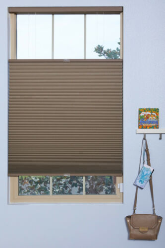 Top Down Bottom Up, Cordless, Blackout Cell Shades CUSTOM WIDTH, 48 or 72 Long