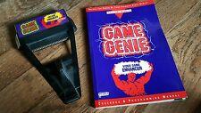 GAME GENIE VIDEO GAME ENHANCER For Nintendo & NES CODE BOOK