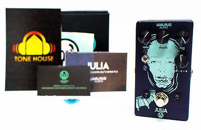 walrus audio julia chorus vibrato guitar effect pedal brand new ebay. Black Bedroom Furniture Sets. Home Design Ideas