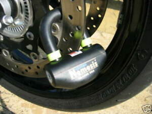 Oxford-NEMESIS-Disc-Lock-Ultra-Strong-Motorcycle-Bike-padlock-Secure-GOLD-OF47