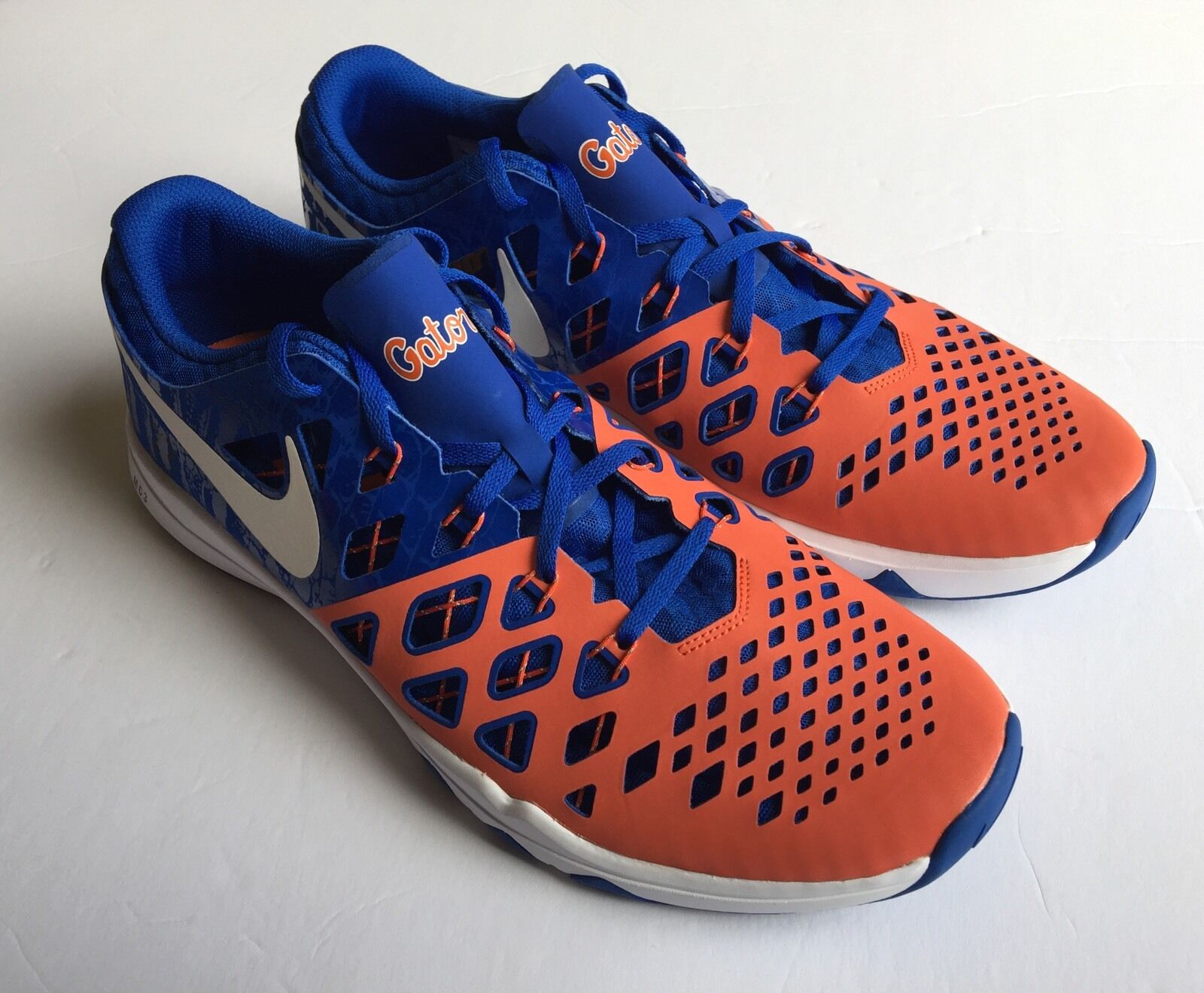 Nike ID 2016 2016 2016  Florida Gators Speed Train 4 AMP Limited Edition scarpe Dimensione 14 d8d1d4